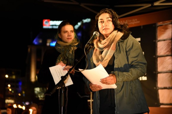 NOAHs Siri Martinsen og Shabana Rehman. Foto: Øystein Sund.