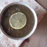 Linsesuppe med sitron og timian
