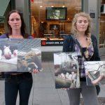 Markering mot kjøttindustrien i Oslo