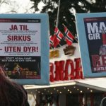 Markering mot Cirkus Arnardo i Stavanger