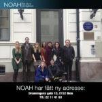NOAH har fått nytt kontor!