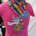 NOAH-stand på Oslo pride 2016.