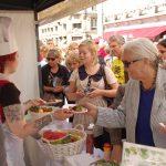 Oppskrifter og info om maten fra NOAHs vegetarstand 2011