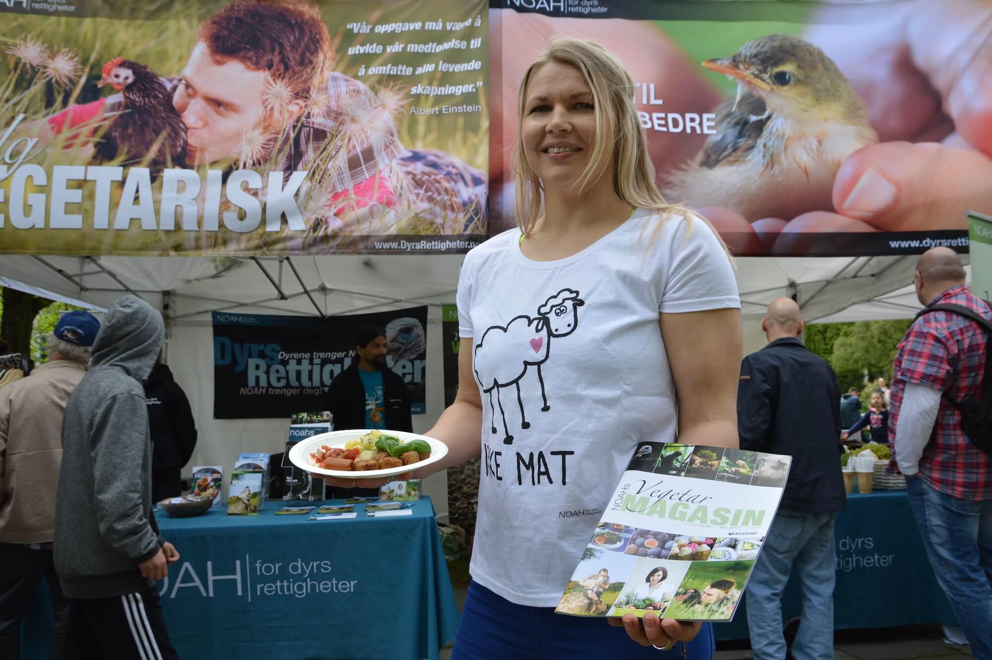vegetarisk kosthold Gjøvik