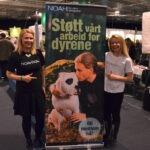 NOAH-stand på Visjon Expo Alternativmessa i Trondheim.
