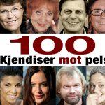 100 kjendiser mot pels!