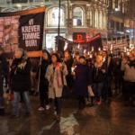 Rekordmange i NOAHs fakkeltog mot pels 2014