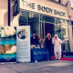 NOAH-stand med The Body Shop i Stavanger.