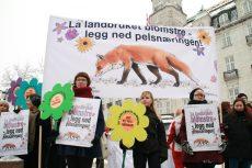 NOAHs markering mot pels 5 feb nr 2 Foto NOAH, Alexandra Dybvig