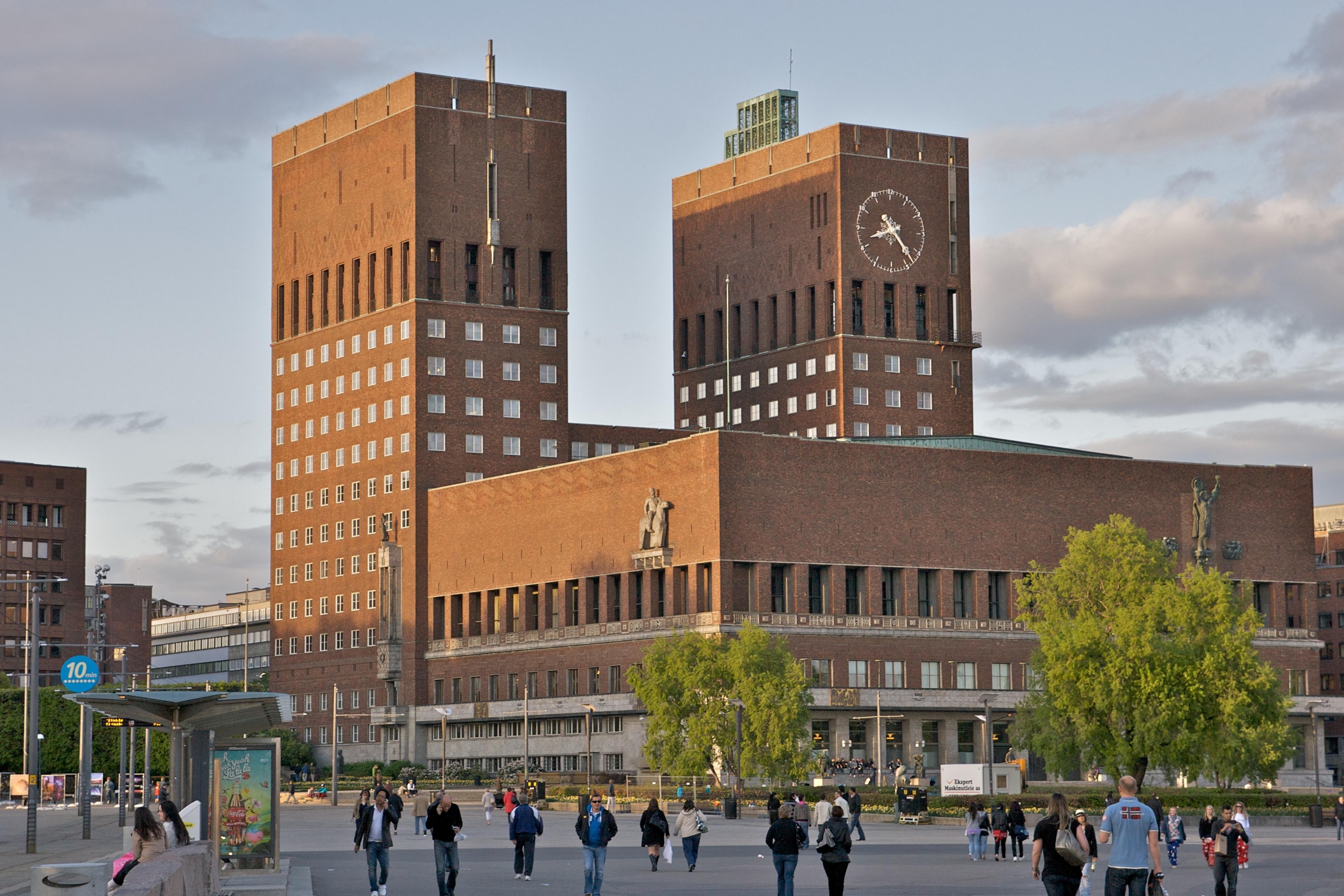 Hver mandag fremover serveres det kun vegetarisk mat i Oslo Rådhus sin kantine. Foto: Alexander Ottesen.