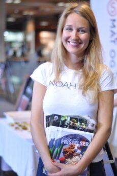Kaisa Hautala, vegetarkoordinator i NOAH.