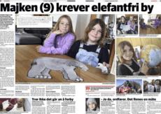 NOAHs Siri Martinsen uttaler seg om elefantforbud i Finnmarkingen, 5. september 2014.