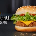 Veggie McSpice – burger med bite!