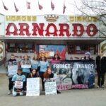 Demonstrasjon mot Arnardo i Verdalen