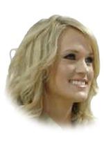 Portrett av Carrie Underwood