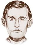 Portrett av Edvard Munch
