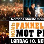 Fakkeltog mot Pels - Ålesund