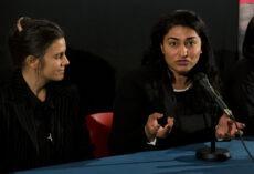 Shabana Rehman og Siri Martinsen på visningen av NOAHs nye elefantdokumentar.