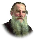 Portrett av Leo Tolstoi