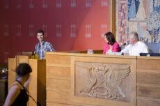 Moxnes holder innlegg for elefantforbud i Oslo Bystyret 18. juni.