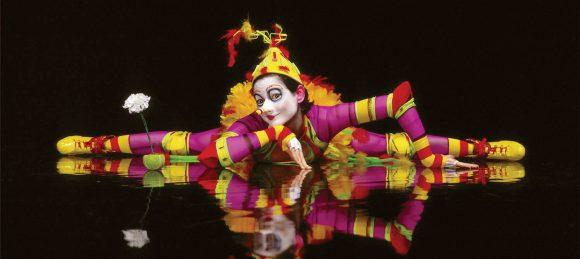 Nysirkus, klovn på Cirque de Soleil, sirkus uten dyr.
