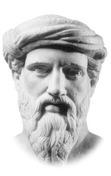 Portrett av Pythagoras