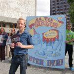 Demonstrasjon mot dyr på sirkus i Oslo