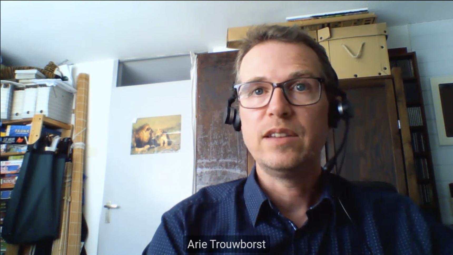 Arie Trowborst, forsker på bevaringspolitikk- og juss, som vitnet for NOAH.