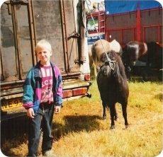 Thomas på sirkus.