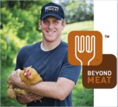 """Beyond Meat: Ethan Brown er grunnlegger av firmaet """"Beyond Meat"""" som tar mål av seg å lage plante-kjøtt som utkonkurrerer den animalske kjøttindustrien. Han er veganer og vokst opp på gård med dyreproduksjon."""